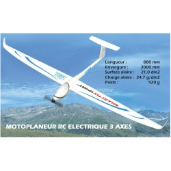 SMART FLY Sport ARF T2M avec flycam One V2